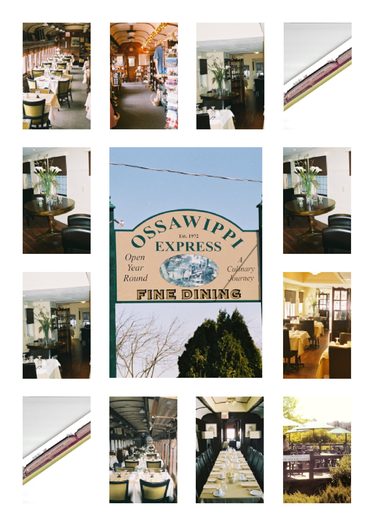 Ossawippi Express Dining Cars